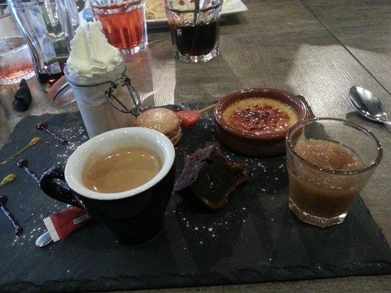 Brasserie La Cantine de Deauville : Café gourmand