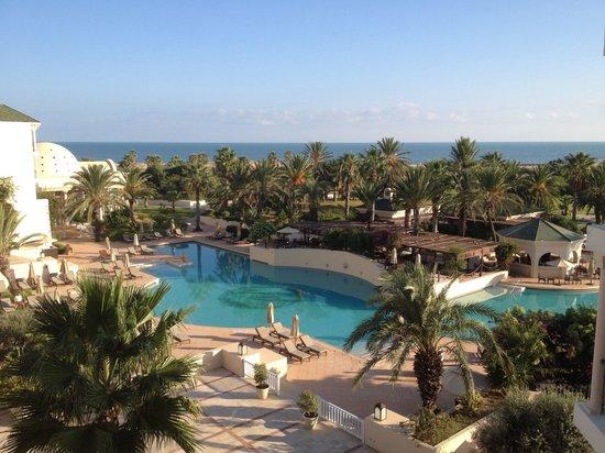 The Residence Tunis : Vue de notre chambre