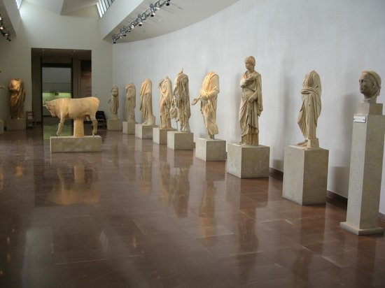 Ancient Olympia: museum
