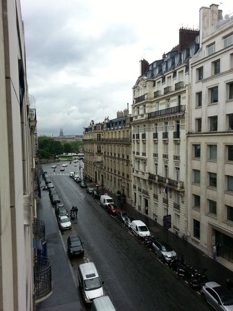 Residence du Roy Hotel: View from our room.