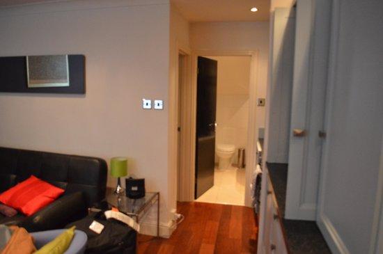 Living Area/Bathroom