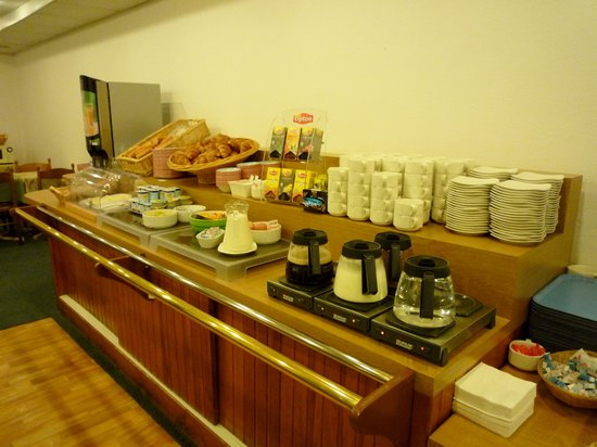 Hotel Gabriel : 朝食はフレッシュなフルーツやサラダはなし
