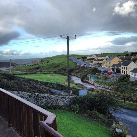Sea View House Doolin : View from front porch of Sea View House