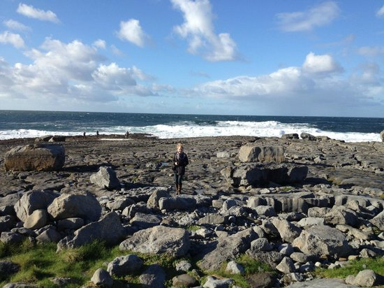 Sea View House Doolin : 1 minute drive around corner from Sea View House