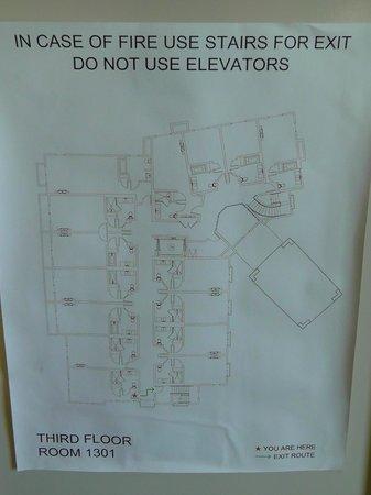 Hotel Abrego: Raumplan