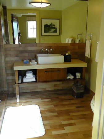 Hotel Abrego: Badezimmer