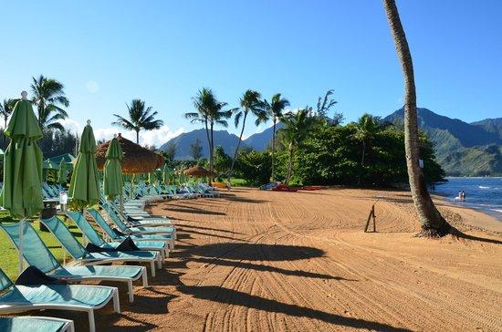 St. Regis Princeville Resort: Pool /  Beach area at St Regis