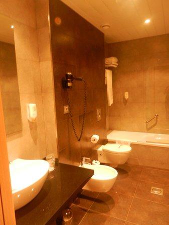 Sercotel Hotel Gran Bilbao: Bathroom 303