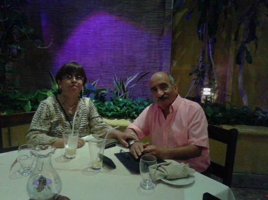 Hotel Cartagena Plaza : Cena de despedida