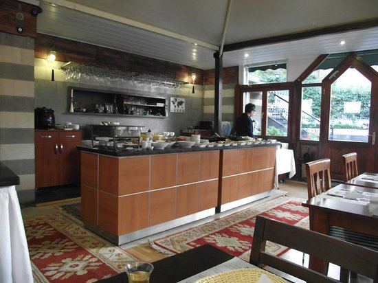 Rose Garden Suites Istanbul : The breakfast area