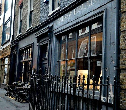 Photo of Modern European Restaurant Andrew Edmunds at 46 Lexington Street, London W1F 0LP, United Kingdom