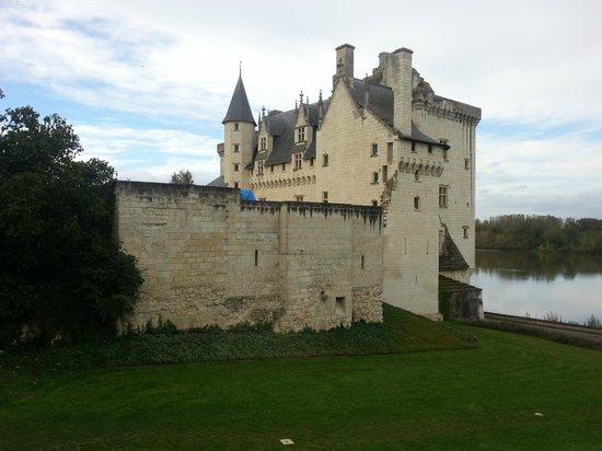 Château de Montsoreau : Château avec vue sur la Loire