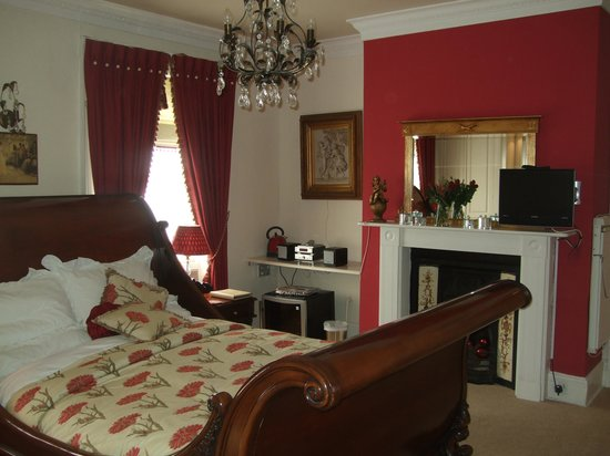 Kegworth House: the bridal suite