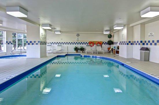 Hilton Garden Inn Toronto/Mississauga: Come take a dip...
