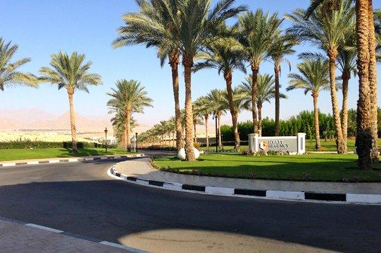 Hyatt Regency Sharm El Sheikh Resort: Entrance