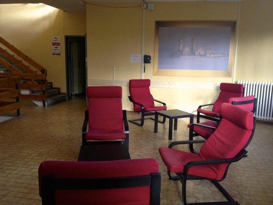 Siena Hostel Guidoriccio: spazio relax - secondo piano