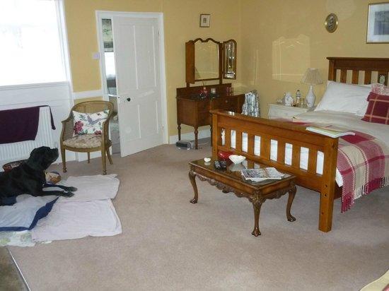 Goss Hall Bed & Breakfast: Harlequin Bedroom