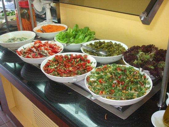 Hotel Greenland: Salad bar
