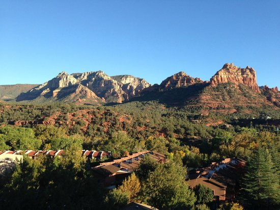 The Orchards Inn of Sedona: View from our balcony
