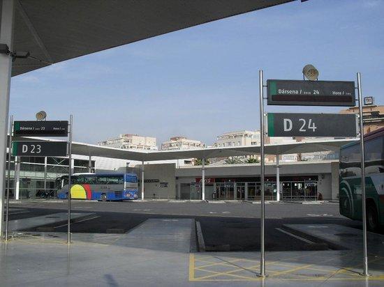 Estacion Intermodal de Almeria : Estación Intermodal (Autobus)