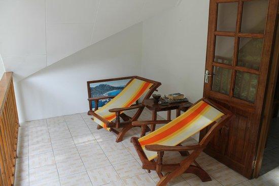 Tanette's Villa: veranda