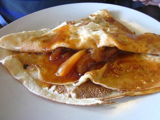 Atao aman : La pommes caramélisées
