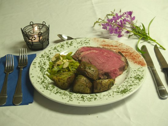 Kasba Lake Lodge: Prime Rib