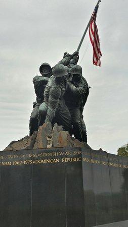 U.S. Marine Corps War Memorial: US Marine War Memorial