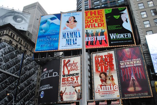 Inside Broadway Tours: views of Broadway
