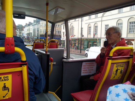 City Sightseeing Cardiff: John telling us about Cardiff