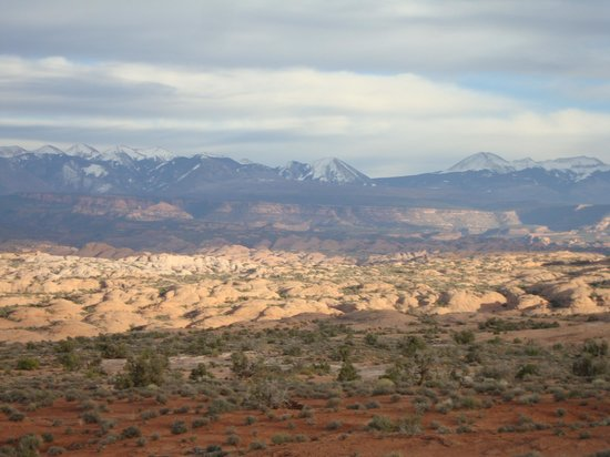 Quality Suites: View in Arches National Park