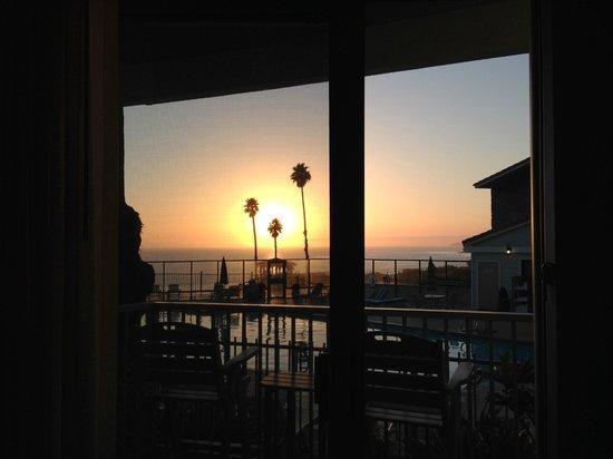Shore Cliff Hotel: Zimmerblick