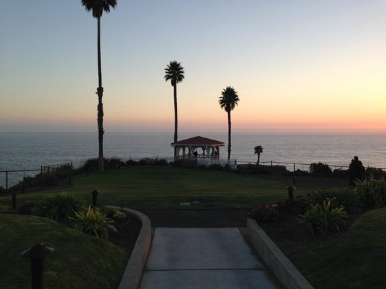Shore Cliff Hotel: Ausblick