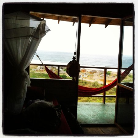 View from the BEAUTIFUL dorm at punto verde