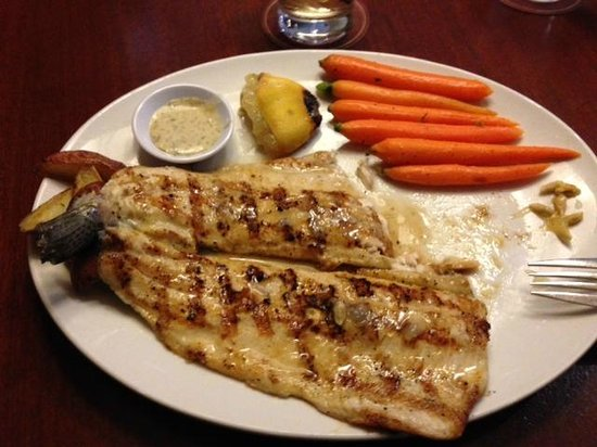 Seasons 52: Trout with carrots and potatoes