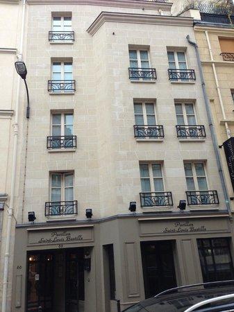 Hotel Albe Bastille: fachada do hotel