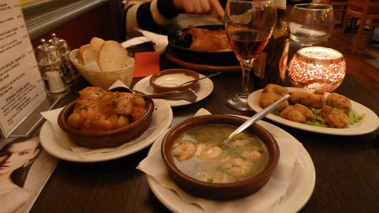 AguaDulce: 3 tapas dishes