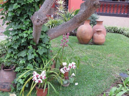 Antigua Miraflores Hotel: Gardens