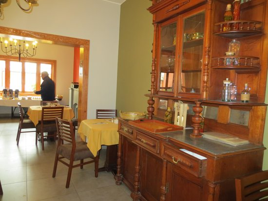Antigua Miraflores Hotel: Breakfast area