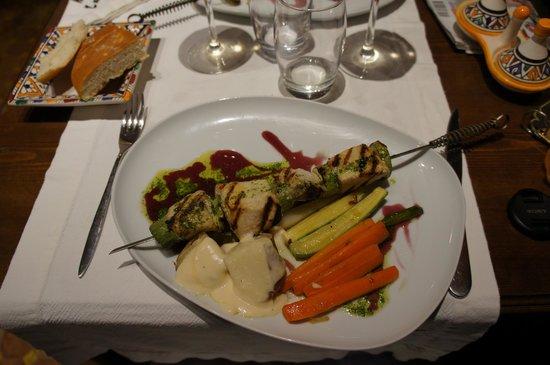 Zahra´s Grill : Fish kebab