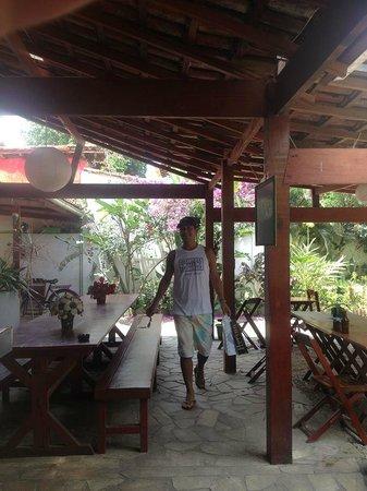Che Lagarto Hostel Paraty: area comun
