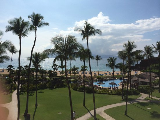 Sheraton Maui Resort & Spa: View from room 5316, Ocean Front, Building 3, 5th floor