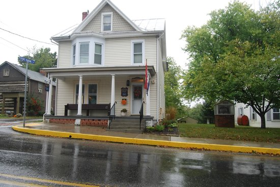 Newville Historical Society Open on a Rainy Day