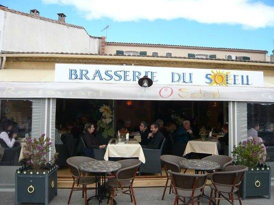 O Soleil : façade du restaurant