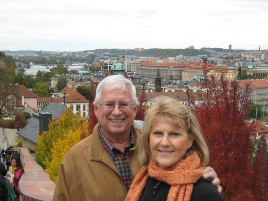 Kamil & Pavlina Prague Guide - Private Tours: The reviewers -- Joyce and Randy