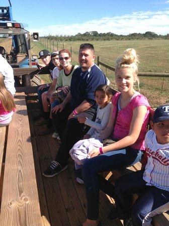 Southern Belle Farm : hayride