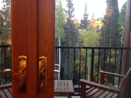 Mountain Lodge Telluride: View from our suite!