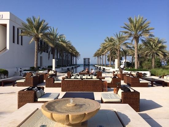The Chedi Muscat – a GHM hotel : 100 metre adult only pool