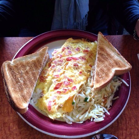 Melissa's Restaurant and Bar: Omelete