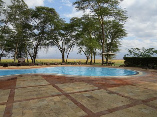 Ol Tukai Lodge: Swimming pool